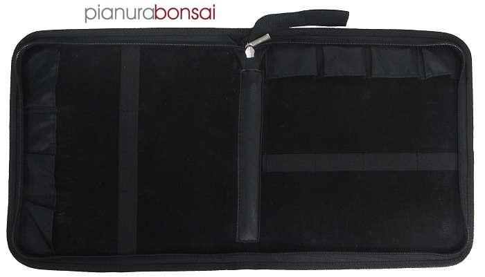 Custodia per attrezzi Bonsai rigida da 7pz